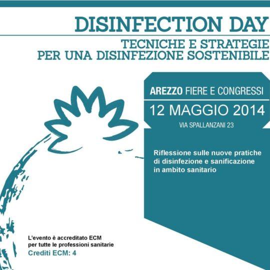 Arezzo 12 Maggio 2014: DISINFECTION DAY – Tecniche e strategie per una disinfezione sostenibile